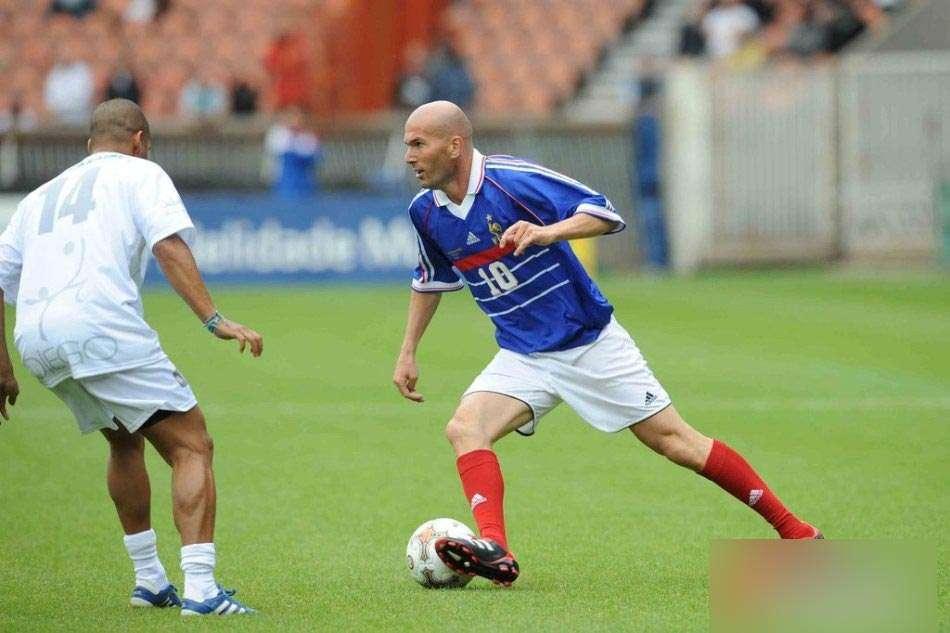 齐达内率法国队夺冠-98法国世界杯